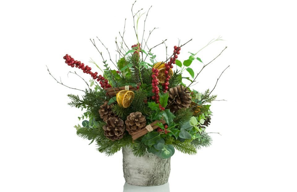 Rustic-Christmas-Centerpiece